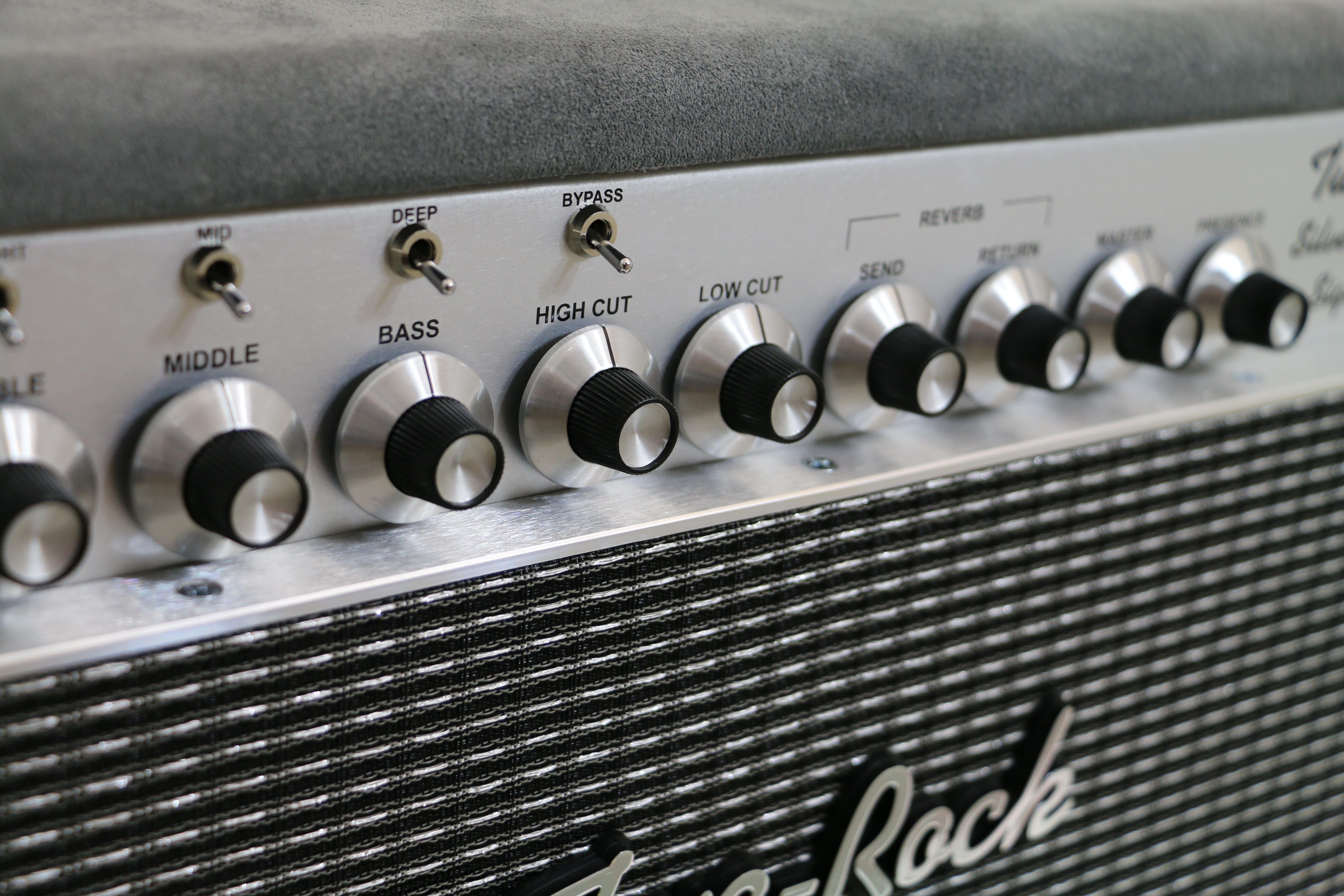 Silver Sterling Signature - Two-Rock Amplifiers
